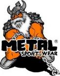 Metal sportwear